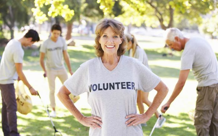 Volunteer at least once this month